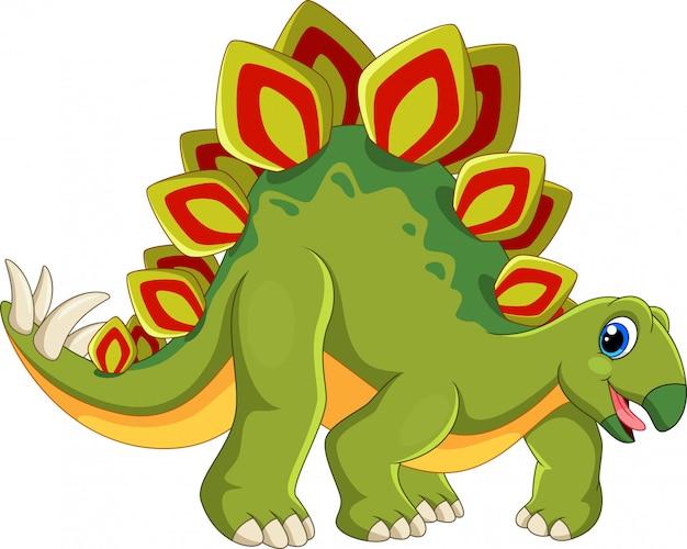 かわいいステゴサウルス漫画