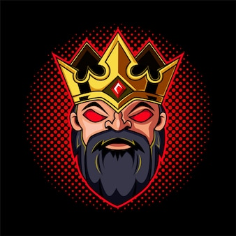 Талисман головы короля гномов