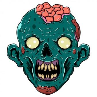 Логотип талисмана зомби