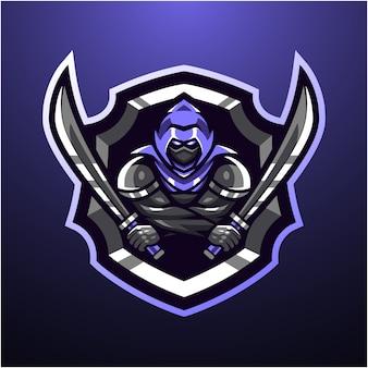 暗殺者のマスコットのロゴ