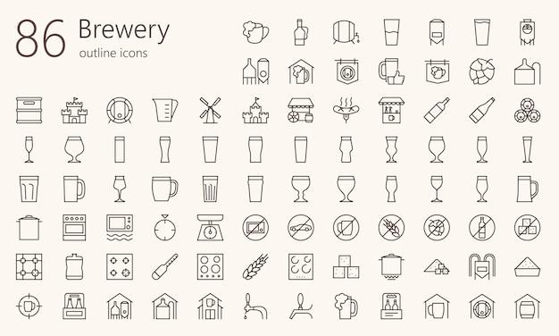 ビール醸造所概要アイコンを設定
