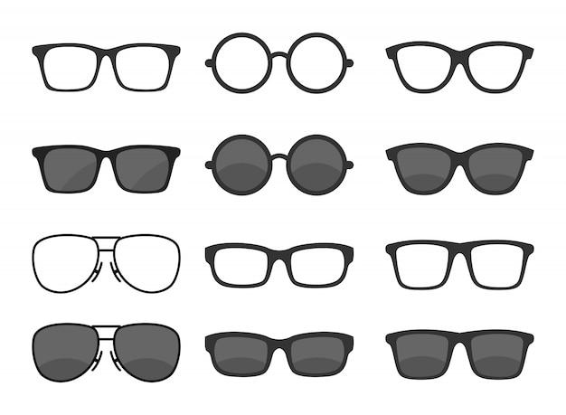 メガネのセット