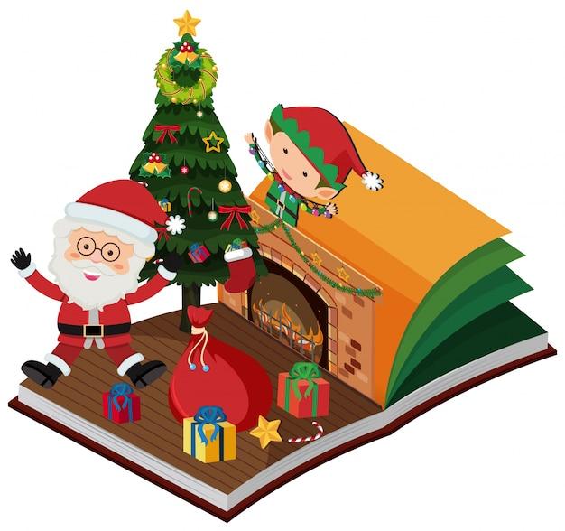クリスマスのためにサンタとエルフと一緒に予約する