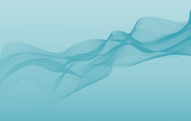 Фоновый шаблон с волнами