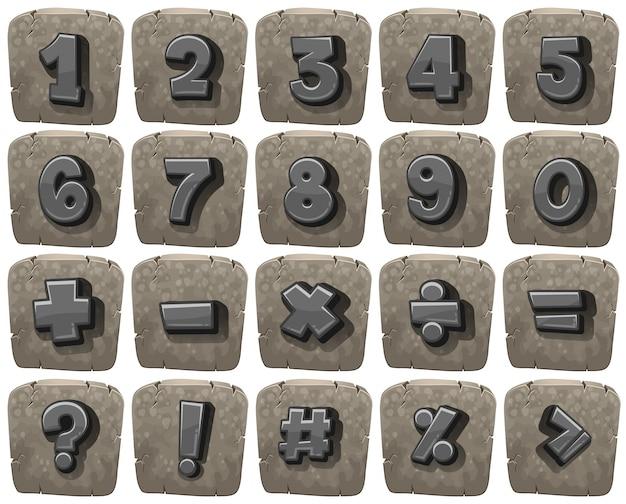 Дизайн шрифтов для чисел и математических знаков
