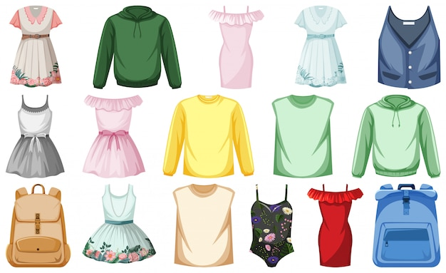 服のセット