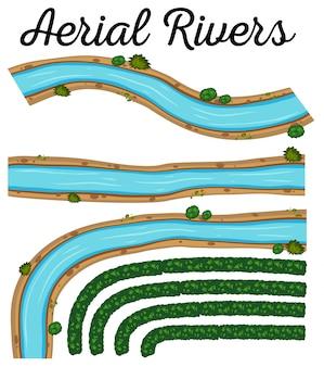 空の川を示すイメージ