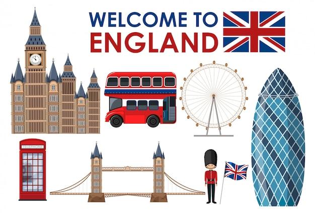 Добро пожаловать в достопримечательности англии