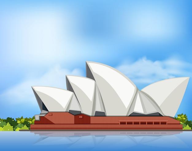 オーストラリアのシドニーオペラハウス