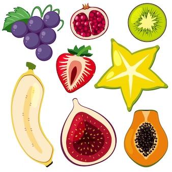 Слет нарезанного фрукта
