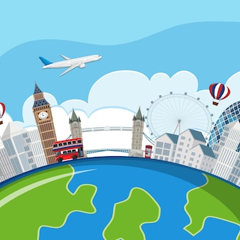 Концепция планеты в лондоне