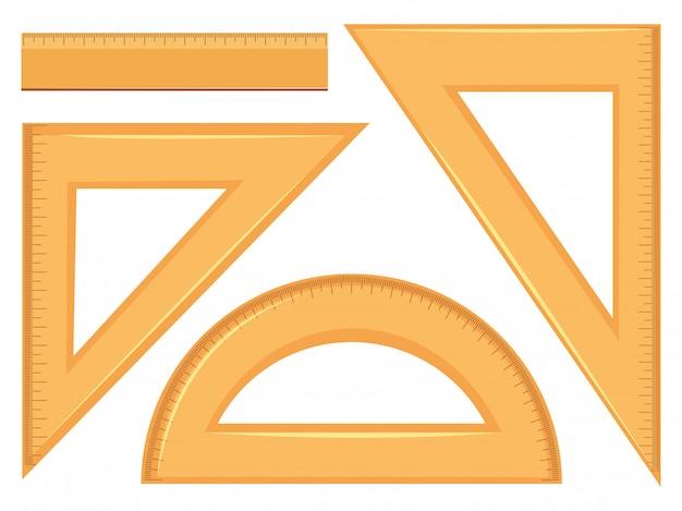 数学的ジオメトリツールのセット