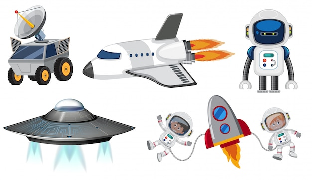 宇宙輸送のセット