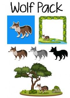 Стая милого волка