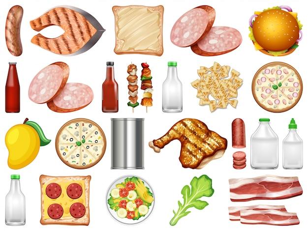 健康食品のセット