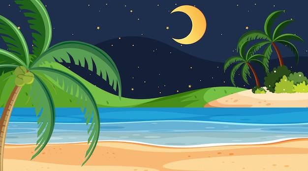 Простая пляжная сцена