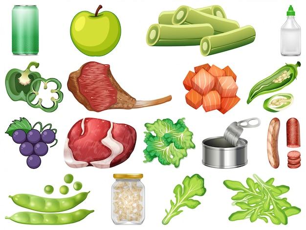 Набор здоровой пищи