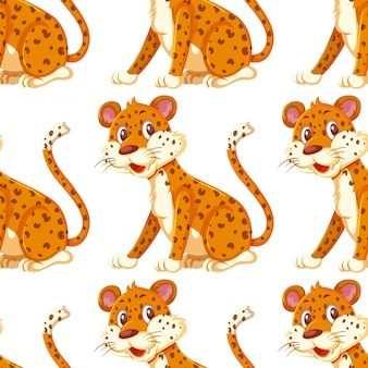 Бесшовный фон от гепарда