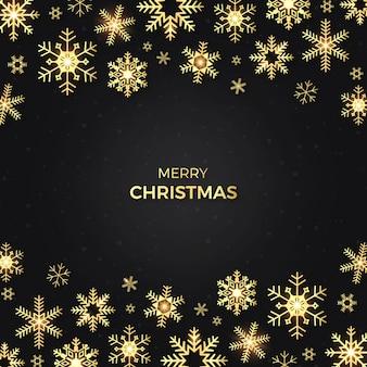 Творческий рождественский снегопад фон