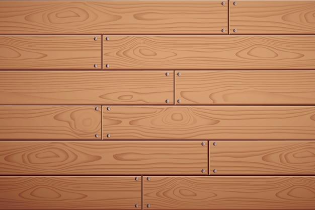 Деревянный фон векторные текстуры древесины. деревянная доска