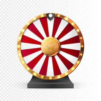 Красочные колесо удачи или удачи инфографики.