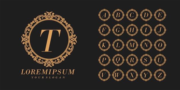 Установить алфавит свадебный шрифт элегантный