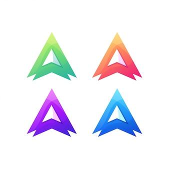 文字ロゴアルファベットタイポグラフィ