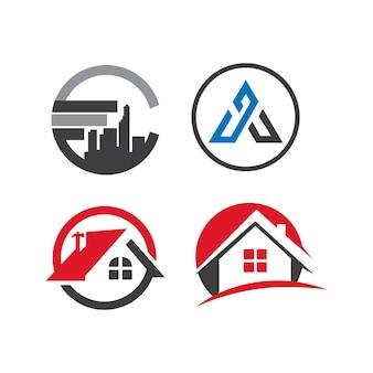 Задайте бизнес логотипа недвижимости