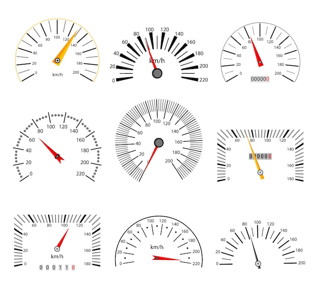 速度計セット