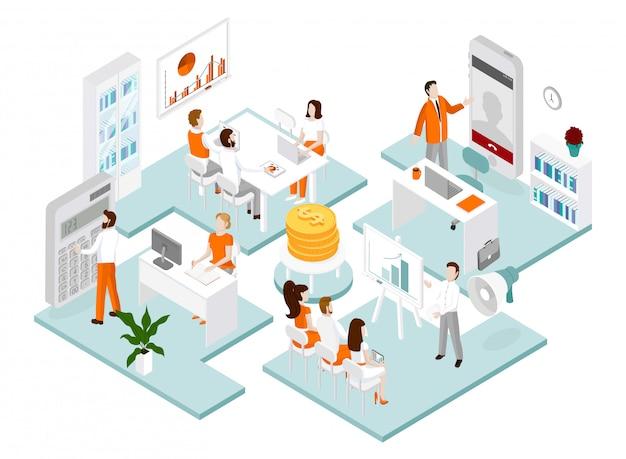 医師と看護師が患者の世話をし、一緒に接続する:医療と技術の概念。