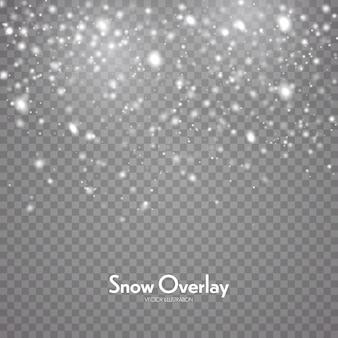 Падающий снег, снегопад фон
