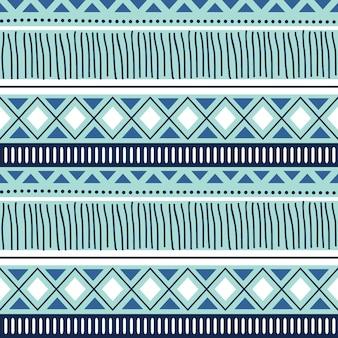 冬の青い色とシームレスな抽象的な背景