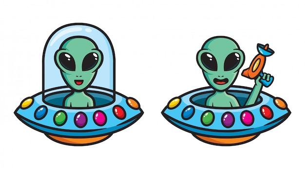 Набор инопланетного персонажа