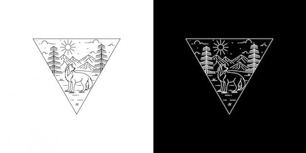 ウルフモノラインデザイン