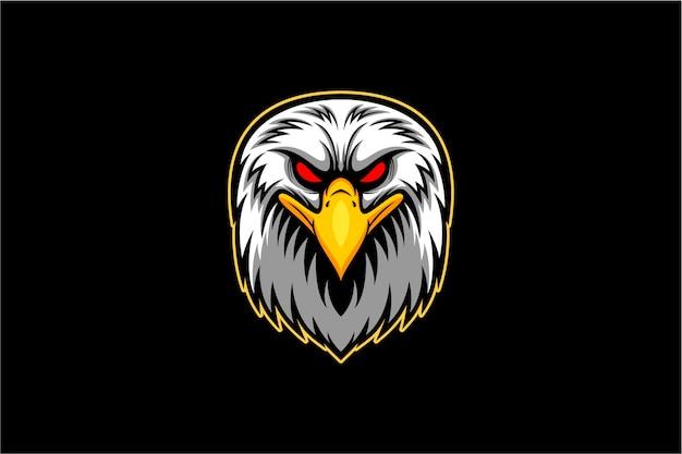 Вектор головы белоголового орлана