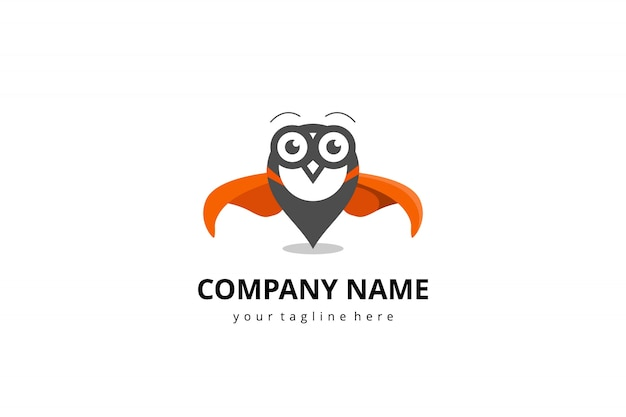 Логотип совы