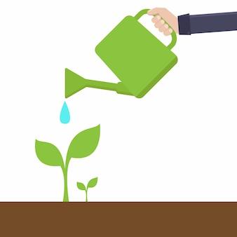 緑豊かな環境の概念
