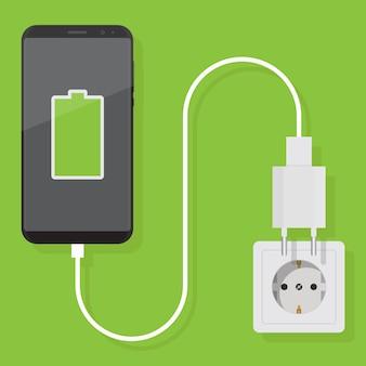 Зарядите смартфон