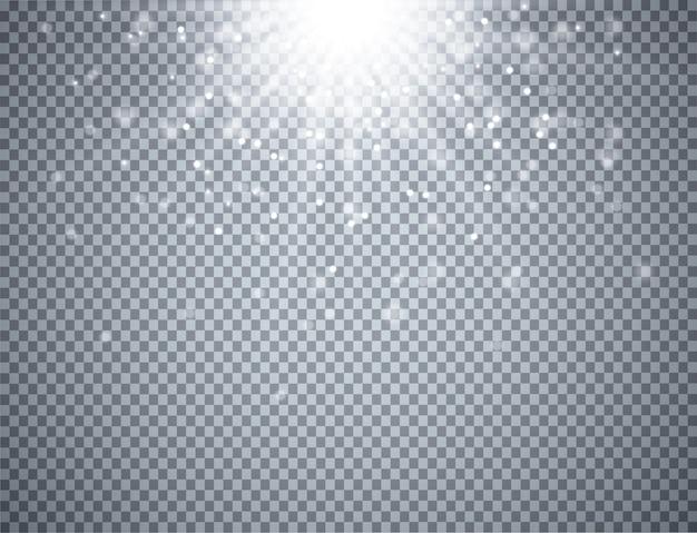 Световой эффект на прозрачном фоне