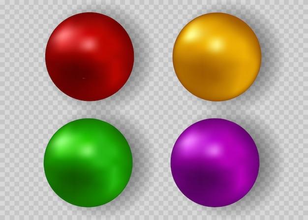 色とりどりの真珠。