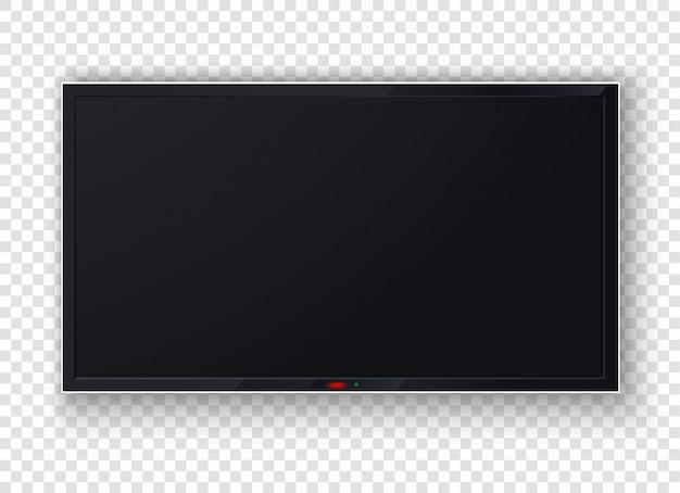 Телевизор цифровой, современный пустой жк-экран, дисплей, панель