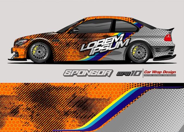 Абстрактный фон вектор для дизайна гоночного автомобиля и окраски автомобиля