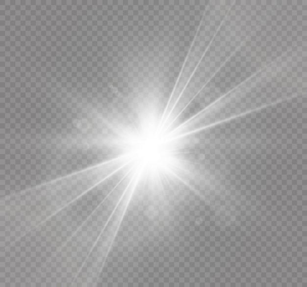 抽象レンズゴールドフロントソーラーフレア透明特殊光効果