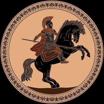 Древний римский воин.