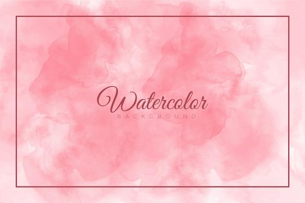 Розовый абстрактный всплеск краской фон с акварельной текстурой