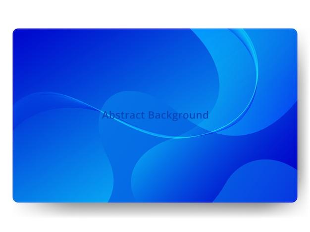 グラデーションカラーブルーとモダンな抽象的な背景
