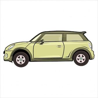 Карикатура иллюстрации автомобиль современный