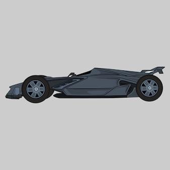 スポーツ車の図