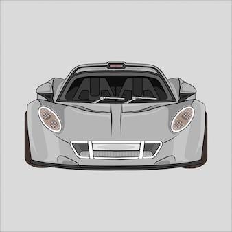 スポーツ車のイラスト