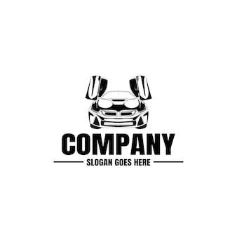 車両のロゴのテンプレート。